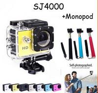 Action Camera Full HD DVR Sport DV Original SJ4000 1080P Helmet Waterproof Camera 1.5inch G -Senor Motor Mini DV 170 Wide Angle