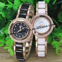 50pcs/lot TS-314 New Arrivel Acrylic Metal watch Fashion Woman Rhinestone Steel Dress Wrist Watch Hot Sale Alloy Watches