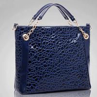 2014 new tide female alligator bag fashion metal rings bag messenger bag crossbody bag handbag hot sales