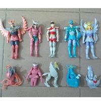 free shipping japan anime Saint Seiya  pvc figure  10pcs set  b2949