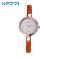 2014 The New Ladies Elegant Casual Fresh Ultrathin Belt Rhinestone Quartz Wristwatches
