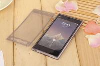 xiaomi m3 mi3 case silicon flip case for xiaomi mi3 transparent tpu water case with plug xiaomi m3 cover shockproof +1x free HD