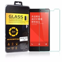 ultra thin Premium 2.5D Tempered Glass For xiaomi red rice note hongmi note 5.5 inch Screen Protector with retail box