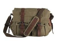 FREE SHIPPING Autumn new canvas leisure bag man bag diagonal Korean men bag / shoulder bag men messenger bags /