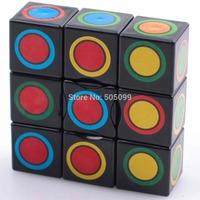New Black 1x3x3 Magic cube Floppy 1x3x3 Magic cube black Spuer 133 Speed cube