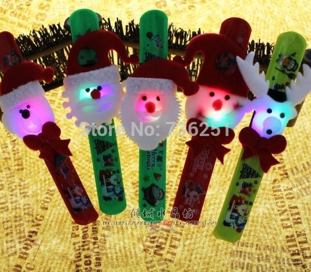 New Arrival Christmas Decoration Luminescence Christmas toys Christmas Brian Circle Christmas Gift Toys(China (Mainland))