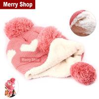 2014 New Fashion Women Ear Protection Women Winter Warm Cap Girls Winter Wool Cap High quality