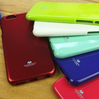 Colorful Mercury GOOSPERY Jelly Case New Arrival Shiny Glitter Soft TPU Gel Case For iPhone 6 4.7 inch Cover High Quality(PG009)