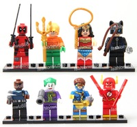 New Building Toys MiniFigures Super Heroes Jaker Deadpool Blocks Toy Free Shipping 8pcs/lot