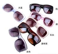 2014 Retro Unisex Sunglasses Popular Cool Mirror Sunglasses Unisex Colorful Frame Wayfarer Glasses