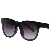 New 2014 Fashion Women Retro Round Sunglasses Reflective Glasses Eyeglasses 14 Colors Free Shipping
