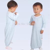 Child children newborn baby infant 100% cotton sleeping bag spring and autumn sleeping bag sleepwear robe nightgown NTZ0813