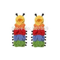 Double rainbow cartoon caterpillar sleeping bags, sleeping bags solid and durable, novelty jacket NTZ0808