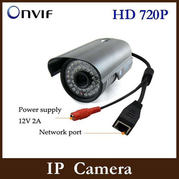IP camera 1280*720P 1.0MP ONVIF 2.0 Waterproof Outdoor IR-CUT Filter Night Vision P2P Plug  Security Camera CCTV Camera(China (Mainland))