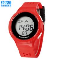 CHBWAH044 outdoor luxury swim 3rd degree Digital LED Backlight Date Sportwatch waterproof Rubber Unisex /baby Sport Wrist Watch