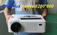 cheerlux CL720D led hd projector / spotlight / beamer with native 1280*800 3000 lumens 2 HDMI input 2 USB input VGA AV