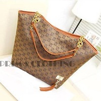 women handbag shoulder bag chains canvas designer tassel brand women messenger bag fashion women tote bolsas SV004484