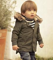 Children's Winter Jacket Boys Fur Collar Winter Jacket for Boy Coat Children Hoody Parka Kids Clothes Boys Jackets And Coats