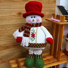 2014 New Arrival Christmas Tree Decoration Lovely &Cute Snow Man And Santa Claus Christmas Tree Beauty Christmas Ornament SHB225(China (Mainland))