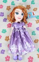 Free Shipping  princess sofia doll plush toys 46cm Stuffed soft toys dolls for girls
