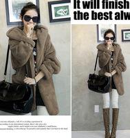 Free shipping new 2014 spring autumn winter fashion wool jacket medium-long design brand wool coat outerwear