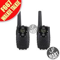 FS! Mini Walkie Talkie 0.5W UHF 2 Way Radio Transceiver  F-667 PMR/GMRS, 22 channels Intercom 1 Pair (2 pieces)