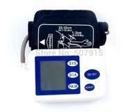 New Brand Portable Household Arm Blood Pressure Monitor Heart Beat Meter Sphygmomanometer digital arm  tonometer