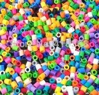 3mm MORE COLORS! Authentic Perler Beads Iron Fuse Bulk 300bag   7000pcs/bag  free shipping