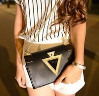 Free shipping new 2014 fashion handbags women shoulder bags women casual bags metal chain women messenger bags