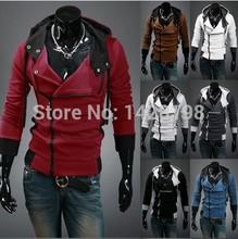 _ Spring 2014 new fashion new men's zipper jacket, coat jacket dress casual sports jacket _(China (Mainland))