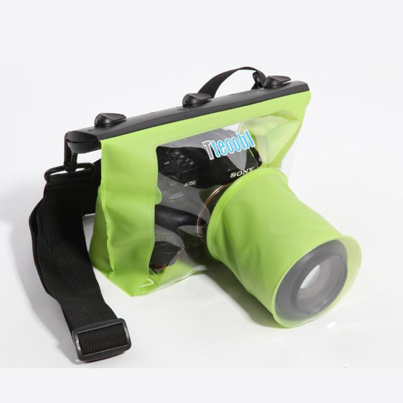 NEW HD SLR Digital Camera Waterproof Bag Can Shutter Focusing Underwater Camera Case(China (Mainland))