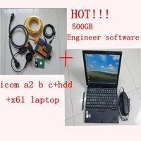 For bmw icom a2 b c + software v2014.08 (500G HDD Engineer software ) + x61 diagnostic laptop with windows 7 system