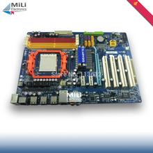 free shipping 90% new for Gigabyte GA-M720-ES3 desktop motherboard AMD Socket AM2 AM3 DDR2 16G NVIDIA nForce 720D ATX on sale(China (Mainland))