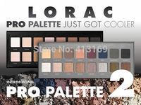Factory Direct!50 Pieces/Lot New LORAC Pro Palette And Pro Palette 2 16 Colors Eyeshadow & Primer!