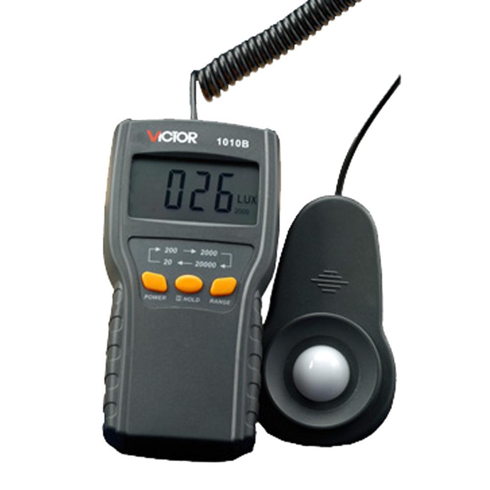 VICTOR 1010B Digital Lux Meter Photo Light Meter Lumens Test(China (Mainland))
