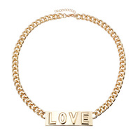 Free shipping 2014 Fashion punk accessories coarse chain necklace quality fashion metal necklace