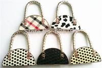 2014 Hot sales Special 5pcs Women Table Bag Shape Foldable Purse Bag Hanger Hangbag Hook