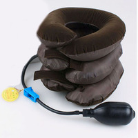 Scolour Headache Relax Cervical Neck Traction Collar Portable Inflatable Device Freeshipping