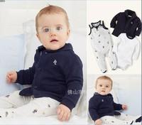 New Arrival 3pcs Child Boy Suit Coat+Long Sleeve T shirt+Jeans Trousers Children Clothing Boy Set Free Shipping K6123