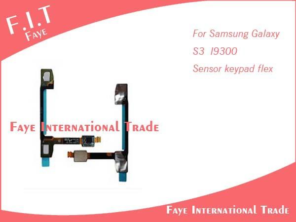 200pcs/lot New Repair part Touch Keypad KeyBoard Light Proximity Sensor Flex for Samsung Galaxy S3 i9300 Free Shipping by DHL(China (Mainland))