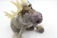 Lovely Frozen Reindeer Sven Plush Large Doll toy Stuffed Animal Moose Gift for kid size 20 centimeter