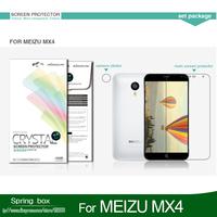 Screen Protector For MEIZU MX4  NILLKIN Super Clear Anti- fingerprint Protective Film Free Gift
