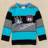 Nova Brand Frozen Boy's t shirt Printed cartoon shirt frozen for kids boys 100% cotton boys clothing A5311Y