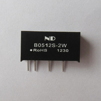 DC DC Converter 5V to 12V 2W Isolated dc-dc power supply modules Voltage Regulator Free shipping