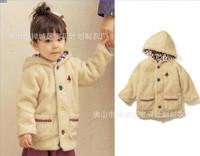 2014 New Korean Children's Clothing Girls Coat  Girls Winter Jacket Coat  K6113