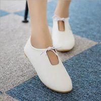 Casual  women flat heel single shoes,soft and hot women white shoes,fashion shoes for women/students/ladies