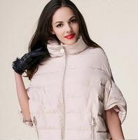 2014 sale new ladies fashion down coat winter jacket outerwear Bat sleeve thick women jackets parka overcoat