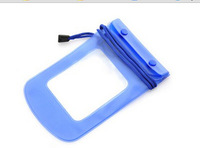 1 Piece PVC WaterProof Pouch Case Watertight Case Outdoor Pouch For Cellphone Dry Bag (Blue) + Free Shipping