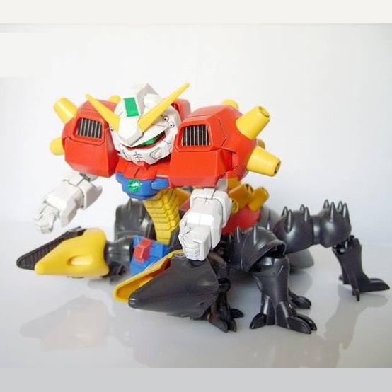 BANDAI Gundam Assembled Model Toys: SD JDG-00X Devil Gundam Assembled Model No Need Russian Language Easy Assembled Best Gifts(China (Mainland))