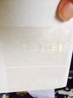 California state  Hologram overlay film for card